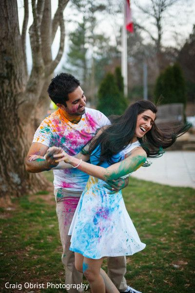 Saba and Zohaib holi shoot Witty Vows