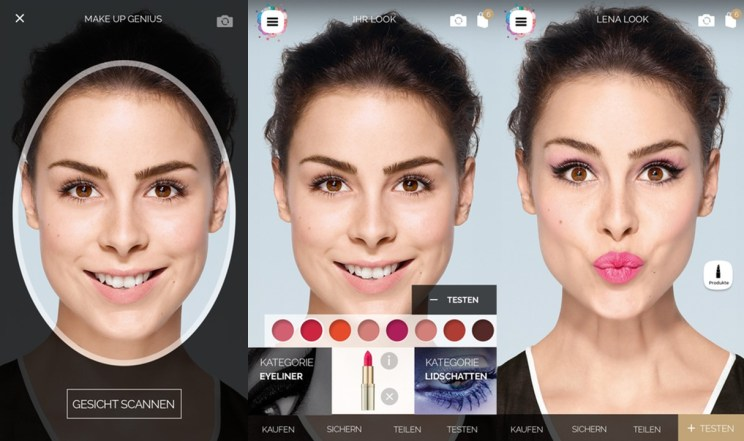 Virtual Makeup Trials - Witty Vows