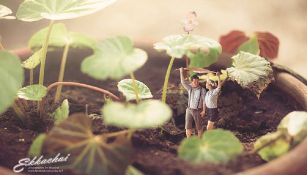 Miniature pre wedding photoshoots! Trend spotting - Witty Vows