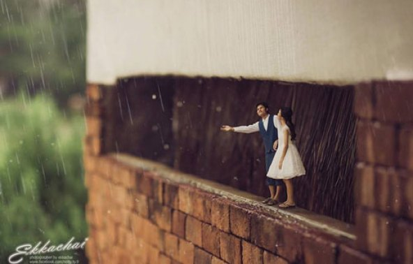 Miniature preceding photoshoots! Trend spotting - Witty Vows