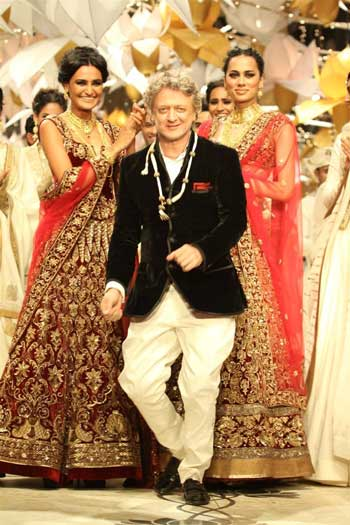 Rohit bal reveals a much needed bridal fashion trend! - Witty Vows