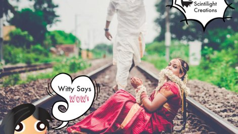 Witty Says WOW Save the bride | Amazing photo Indian Wedding Ideas | Save the date fun idea for bride