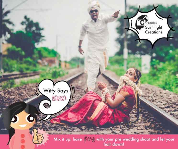 Witty Says WOW Save the bride   Amazing photo Indian Wedding Ideas   Save the date fun idea for bride