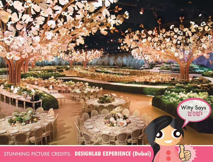 Witty Says WOW   Stunning and amazing wedding reception decor Indian Wedding ideas indoor by Design lab Events   Curated By witty Vows