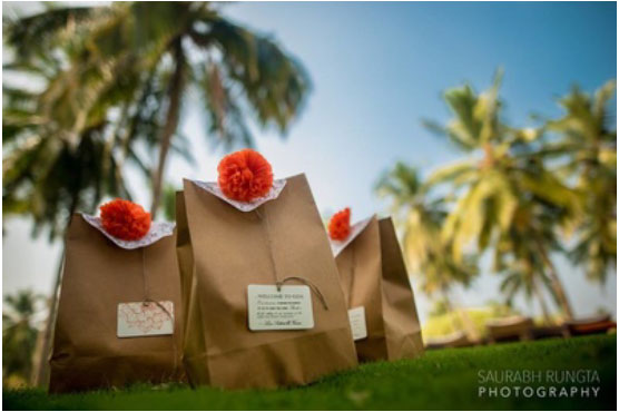 Magic with marigold   DIY decor ideas for the wedding house  Gift them favours with marigold accents  Curated By Witty Vows