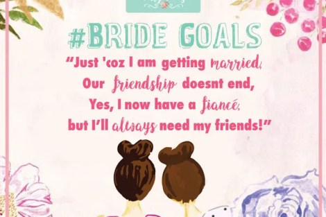 Bride goals by Witty vows - Best friend wedding quotes