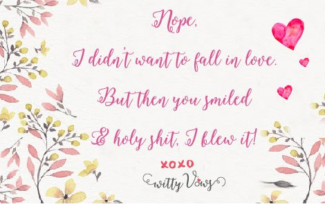 LOL! Super funny Indian wedding quote on what happens in love | Curated by Witty Vows