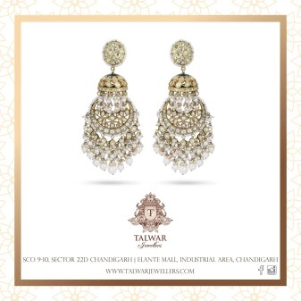 indian bride| traditional Indian jewellery| indian wedding jewellery| wed me good| indian weddings| indian brides | nath | mathapathi| polki necklace| delhi bride | bridal look| Indian Bridal Jewellery | Talwar Jewellers| jhumki