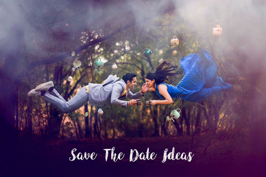 25 amazing Save the date ideas for Indian weddings | Curated by Witty Vows