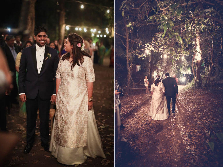 A Chiller Destination Wedding In The Hills, With All The