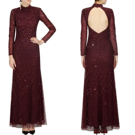 Reception Gowns for Indian Brides- Platinior | Red sequence | Indian Designer | Cocktail Gown | Pernia Popup Shop | Indian Bridal wear | Indian wedding | Indian Gown | Indian Bride | Budget Buy