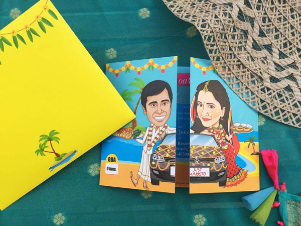 Unique Indian wedding invitation card ideas   Po Tweet