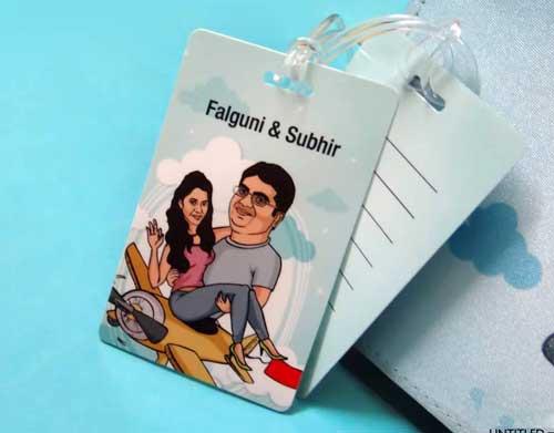 Unique Indian wedding invitation card ideas for destination wedding