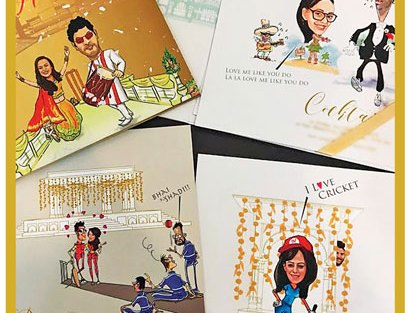 Unique Indian wedding invitation card ideas | Yuvraj Singh wedding card ideas