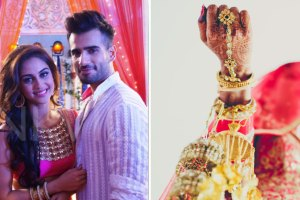 Karan Tacker and Krystal DSouza | Kaleera Drop moment in Indian WEddings
