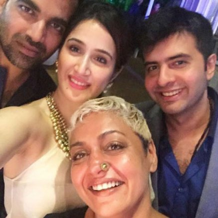 Yuvraj Singh's Wedding reception & Sangeet in Delhi | Zaheer Khan with rumoured girlfriend Sagrika Ghatke
