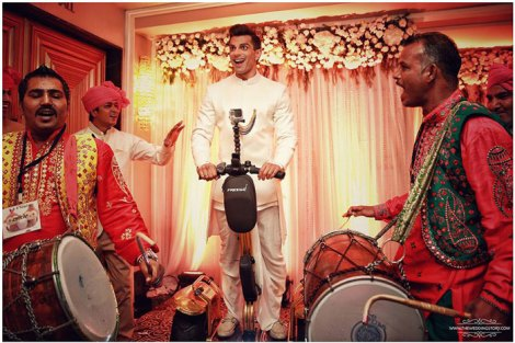 Indian groom entry ideas | Groom enters on a decorated Segway | Karan Singh Grover and Bipasha Basu Weding | Curated by witty vows