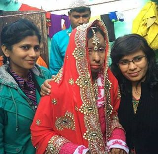Acid attack fighter Shabeena's wedding | A pretty bold bride