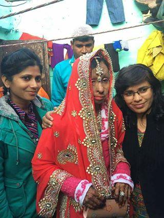 Acid attack fighter Shabeena's wedding   A pretty bold bride