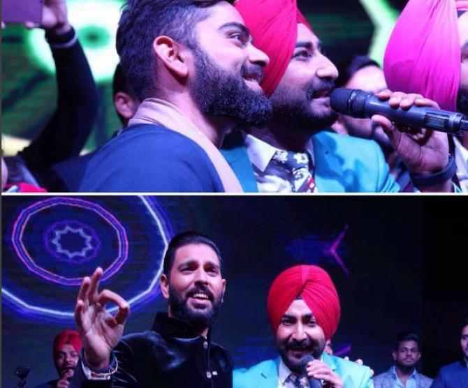 Yuvraj Singh's Wedding reception & Sangeet in Delhi | Yuvraj and Kohli sing along at his wedding