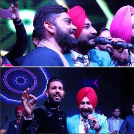 Yuvraj Singh's Wedding reception & Sangeet in Delhi | Yuvraj and Kohli sing along at his wedding
