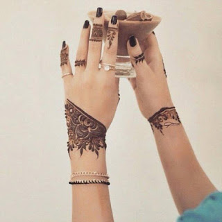 Minimal new mehndi design ideas for this wedding season | Henna Ideas | Lace style Henna design
