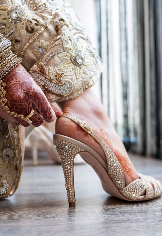 d935844d58f Sabyasachi to Louboutins Latest designer wedding shoes for Indian Brides
