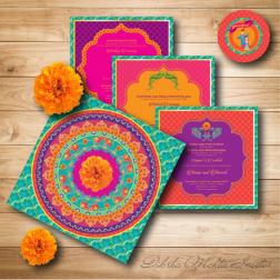 Wedding Card by Diksha Mehta Invites
