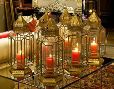 Sufi Night | Sangeet decor ideas | Free Sangeet Theme | decor ideas for sufi sangeet | Designed By - Oma | Gold decor for Indian weddings | moroccon lamps and lanterns for sangeet