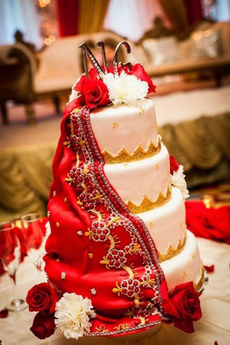 Personalised Wedding Cakes The New Must Have Indian Wedding Trend
