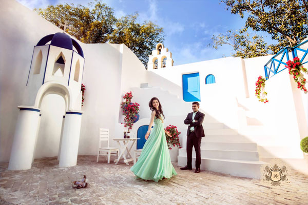 Indian wedding rentals | Luxury services on rent | Fashion on rent in India |vintage cars on rent, helicopter on rent, Pre wedding shoot locations | Pre wedding shoot by picture art company in greece setting