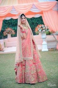 Sukriti-peach-bridal-lehngha
