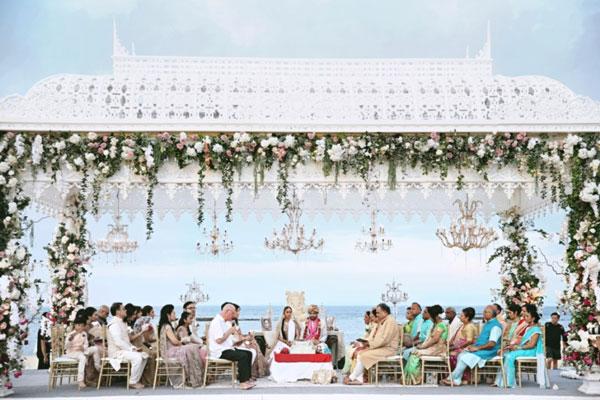 Indian wedding abroad | International destination wedding venues on a budget , Indian wedding destination abroad | Indian wedding in Bali Indonesia | axiom