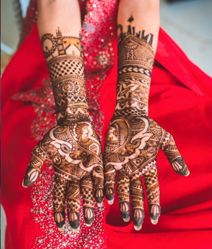 Love Story Henna - The Trending New Bridal Mehndi design Idea you'll LOVE!  ? - Witty Vows