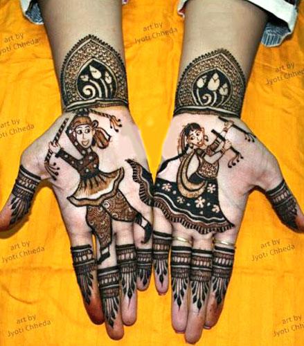 Love Story Henna - The Trending New Bridal Mehndi design