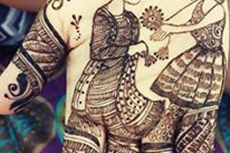 bridal mehndi design | Mehndi idea | Henna designs | Henna story with couple's love story | Proposal
