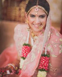 Bridal nose ring ideas | Indian Bridal Jewellery- Nath | Indian brides | naths | instagram |stunning brides | Indian wedding inspiration | by wittyvows | more images