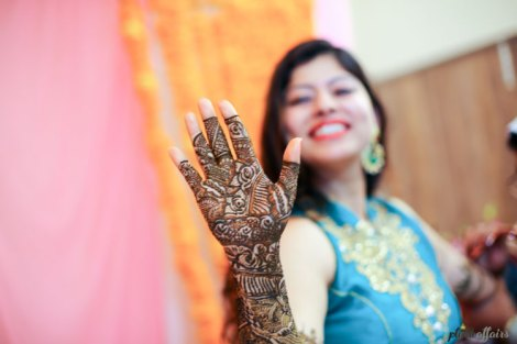 Indian bride mehendi close up | bridal mehendi