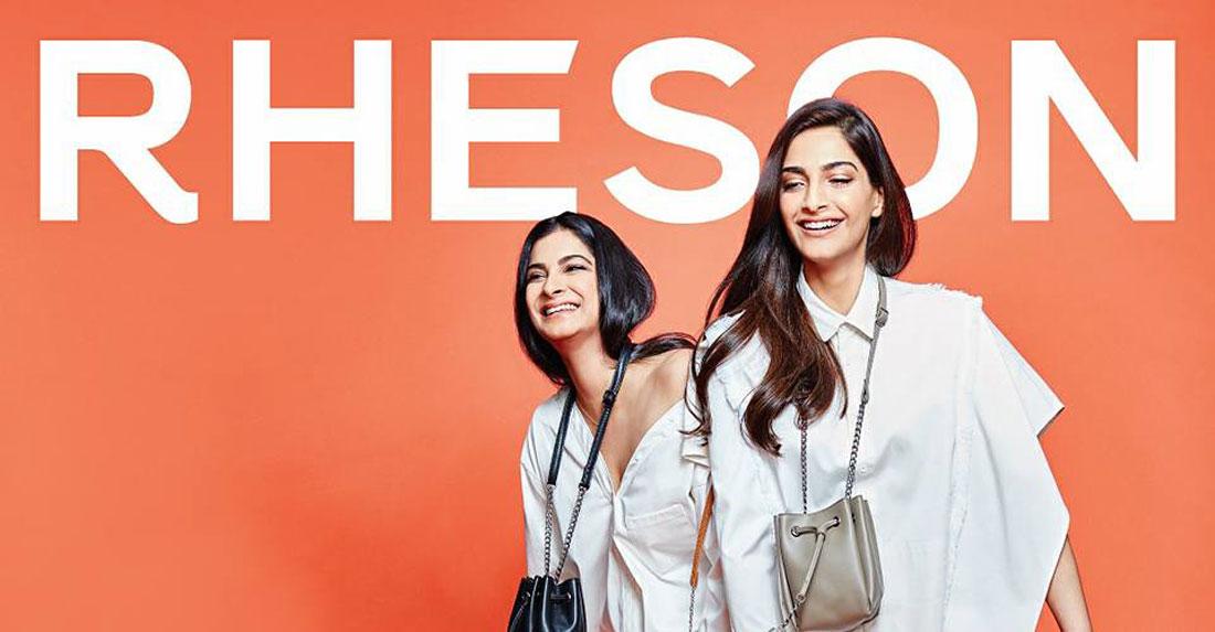 Rheson | Rheson | Sonam Kapoor fashion | rhea Kapoor and Sonam Kapoor fashion brand | high street fashion | shoppers stop | Sonam Kapoor mini bags