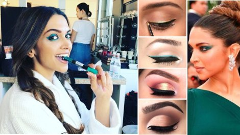 Makeup artist reveals | Pre wedding week DIY looks | Eye makeup looks for Indian brides | DIY eye makeup trends 2017 | Pre wedding celebrations makeup ideas | Warm Coloured smokey eye looks | Brown and gold smokey eye | Plum smokey eye | copper smokey eye lid | Neha chabbra | Deepika at Cannes