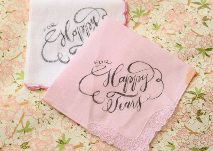oh so beautiful paper | happy tears handkerchief for the Indian moms of the brie