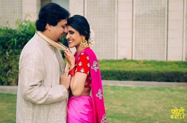 Shreya Kalra wedding photos | Indian fashion blogger's wedding | Indian wedding trends | Indian wedding couple | Indian bride with gajra