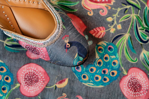 Teej party ideas | Teej Celebrations | Indian Jutti payal signal's new collection for teej - juts with peacocks and flowers
