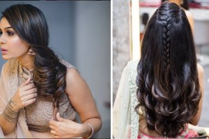 DIY Hairstyles | Instagram hairstyles to try | Bollywood hairstyles for Indian girls | styles by Ornage The Salon