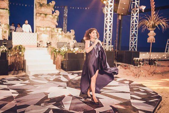 Sagar and Subiya   Destination wedding in Bali   The singer made the sundowner a total groovy event.