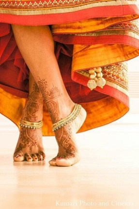 Bridal anklet | Trending Indian anklet ideas - Bridal Payal designs