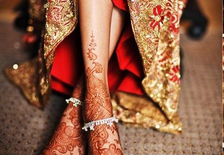 Delicate silver payal | Trending Indian anklet ideas - Bridal Payal designs