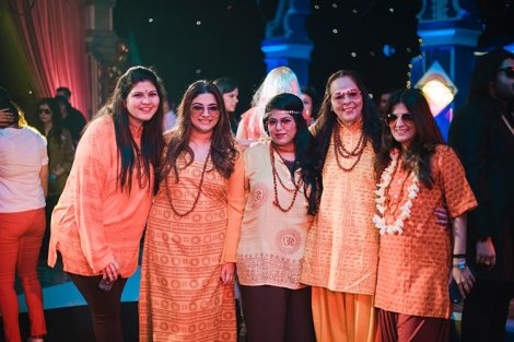 Sagar and Subiya | Destination wedding in Bali | The guests dressed as the favorite bollywood characters in the party.