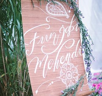 Sagar and Subiya | Destination wedding in Bali | The funjabi mehendi function was really cool.