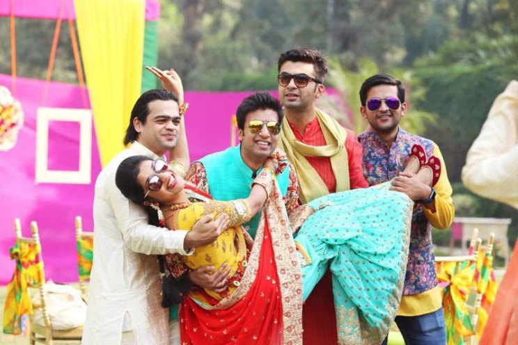 Brother of the bride duties | keep the party going | Indian bride with her brothers